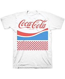 Freeze 24-7 Men's Coca Cola Retro Graphic T-Shirt