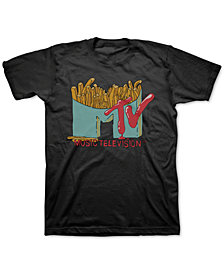 Freeze 24-7 Men's MTV French Fries Graphic T-Shirt