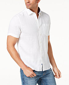 Tommy Bahama Men's Costa Sera Printed Linen Shirt
