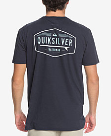 Quiksilver Men's Waterman QWC Logo-Print Performance T-Shirt