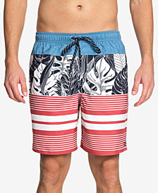 "Quiksilver Men's Waterman Jungle Thinking Printed 6"" Swim Trunks"