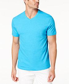 Club Room Men's Performance V-Neck T-Shirt, Created for Macy's