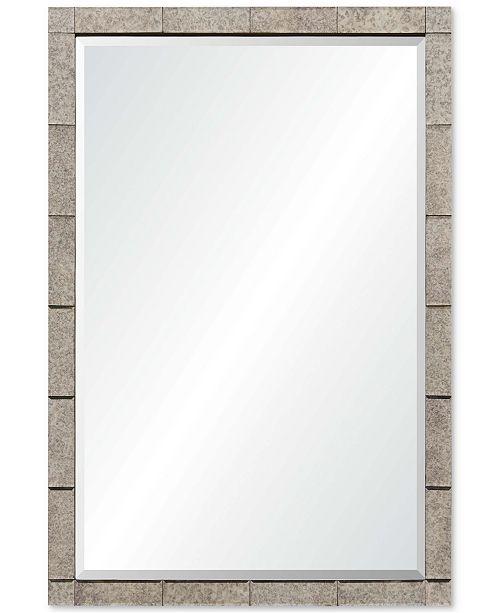 Furniture Adevon Large Rectangular Mirror, Quick Ship