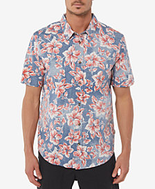 Jack O'Neill Men's Luau Stretch Hawaiian Shirt