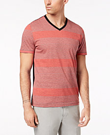 Alfani Men's Multi-Stripe T-Shirt, Created for Macy's