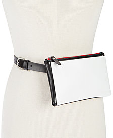 Calvin Klein Colorblock Pocket Fanny Pack, Created for Macy's