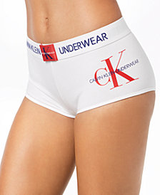 Calvin Klein Monogram Boyshort QF4995, First At Macy's