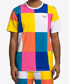 Hudson NYC Men's Tile-Print T-Shirt