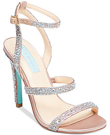 Blue By Betsey Johnson Aubry Evening Sandals