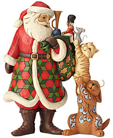 Jim Shore Santa with Animals