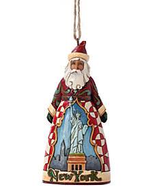 Jim Shore New York Santa