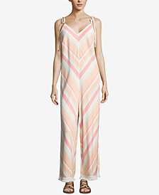 ECI Striped Jumpsuit