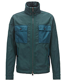 BOSS Men's Water-Repellent Windbreaker