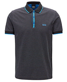 BOSS Men's Regular/Classic-Fit Micro-Dot Polo