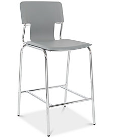 Tysin 26'' Counter Stool (Set Of 2), Quick Ship