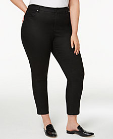 Eileen Fisher Plus Size Skinny Jeans