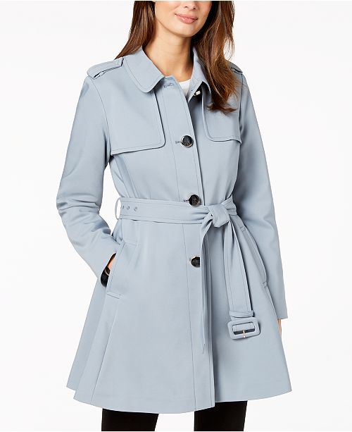 51a5043c3893 kate spade new york Belted Trench Coat   Reviews - Coats - Women ...