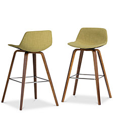 Facee Bar Stool (Set of 2), Quick Ship