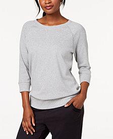 Karen Scott 3/4-Sleeve Top, Created for Macy's