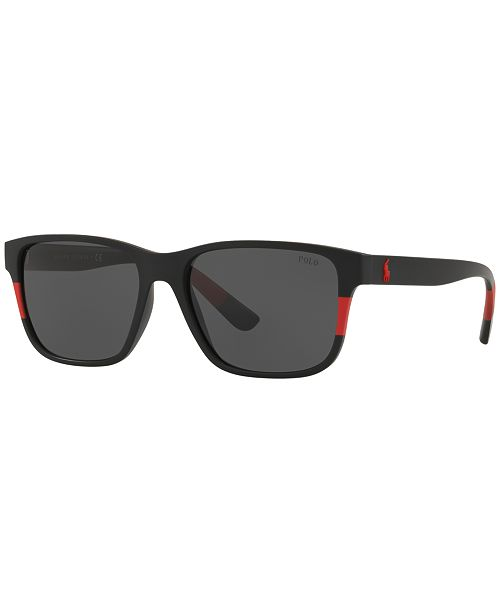df94a75f6928 Polo Ralph Lauren Sunglasses, PH4137 57 & Reviews - Sunglasses by ...