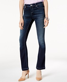 I.N.C. Curvy-Fit INCFinity Bootcut Jeans, Created for Macy's