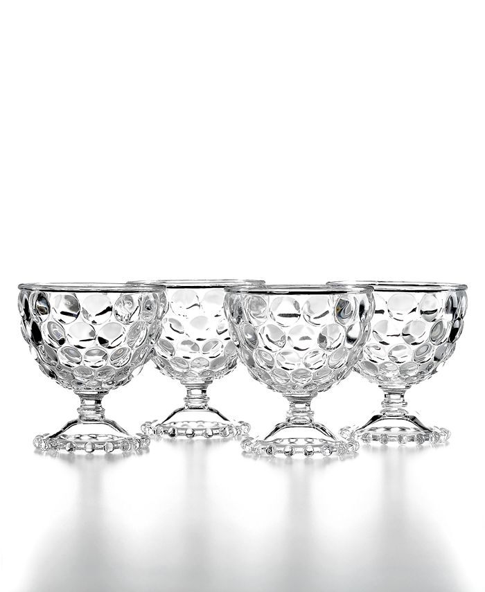 Martha Stewart Collection - Set of 4 Compote Bowls