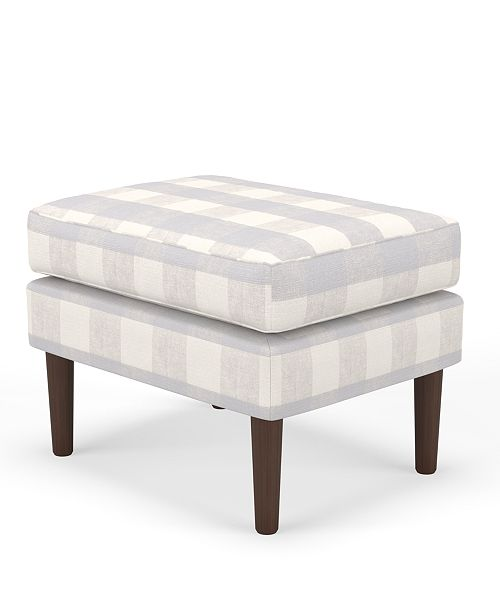 Martha Stewart Collection Bedford Collection Delany Ottoman