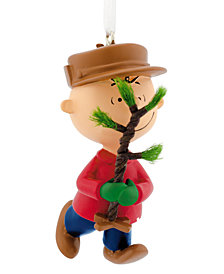 hallmark charlie brown christmas tree ornament - Hallmark Christmas Decorations 2017