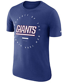Nike Men's New York Giants Property Of T-Shirt