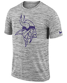 Nike Men's Minnesota Vikings Legend Velocity Travel T-Shirt