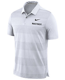 Nike Men's Wake Forest Demon Deacons Early Season Coaches Polo