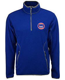 Antigua Men's Chicago Cubs Ice Quarter-Zip Pullover