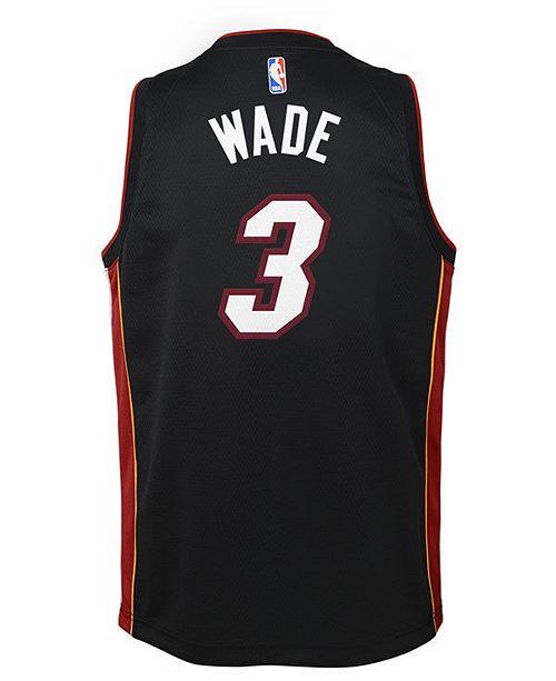 861234c045ed order nike dwyane wade miami heat icon swingman jersey big boys 8 20 sports  fan shop
