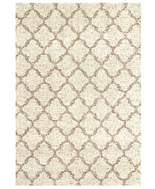 "Karastan Prima Shag Temara Lattice 4' x 5'7"" Area Rug"
