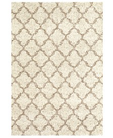 "Karastan Prima Shag Temara Lattice 7'11"" x 10'10"" Area Rug"