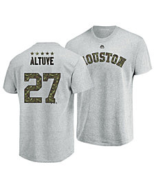 Majestic Men's Jose Altuve Houston Astros Camo Player T-Shirt