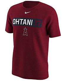 Nike Men's Shohei Ohtani Los Angeles Angels Legend Player T-Shirt