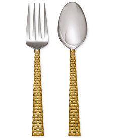Michael Aram Palm Gold Collection 2-Pc. Serving Set