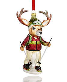 Holiday Lane Hiking Deer Ornament, Created for Macy's