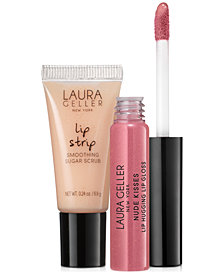 Receive a FREE Deluxe Lip Gloss & Scrub Duo with any $40 Laura Geller Beauty purchase