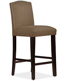 Martha Stewart Collection™ Bedford Collection Callon Bar Stool, Quick Ship, Created For Macy's