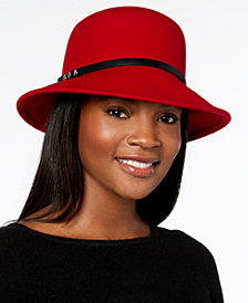 Nine West Felt Trench Cloche, Created for Macy's