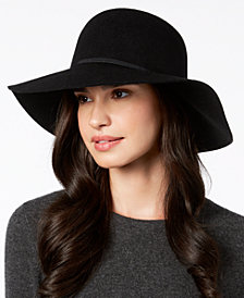 Nine West Wool Felt Floppy Hat, Created for Macy's