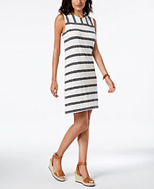 Tommy Hilfiger Striped Shift Dress, Created for Macy's