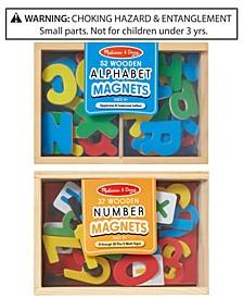 Melissa & Doug 2-Pk. Alphabet & Number Magnets