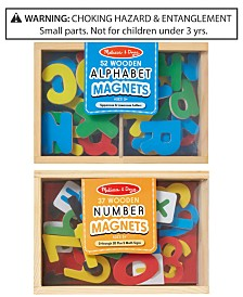 Melissa & Doug 2-Pk. Alphabet & Number Magnets