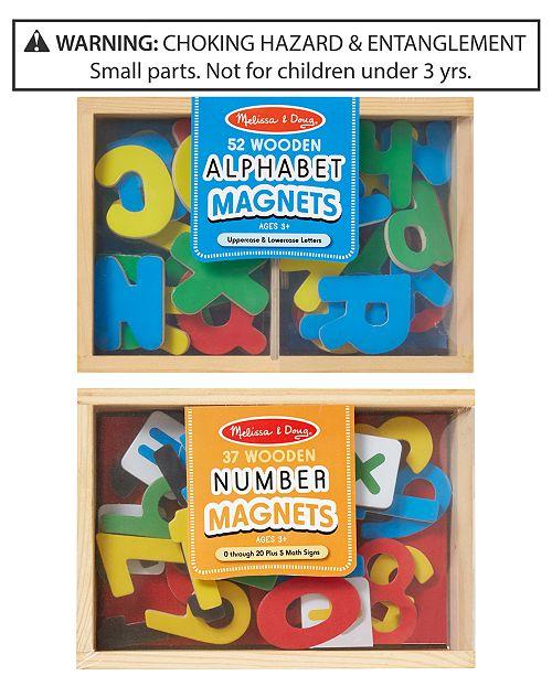 Melissa and Doug Melissa & Doug 2-Pk. Alphabet & Number Magnets