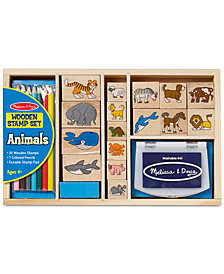Melissa and Doug Kids Toys, Kids Animal Block Stamp Set