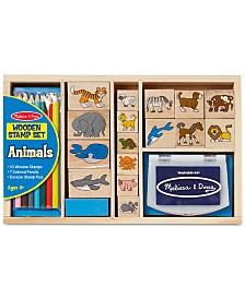 Melissa and Doug Kids Toys, Kids Animal Block Stamp Set