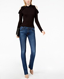 Petite Slim Bootcut Jeans